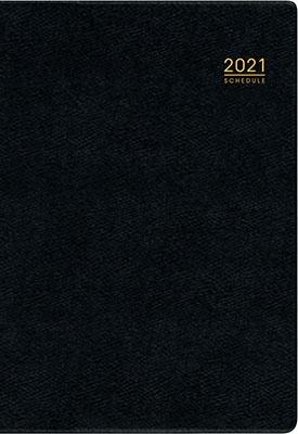 高橋書店 手帳は高橋 デスクダイアリー [黒] ダイアリー 2021年 A5判 ウィークリー 皮革調 黒 No.95 (2021 Book