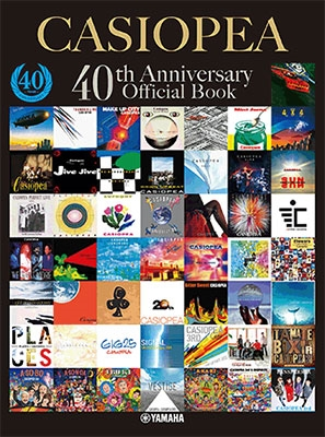 CASIOPEA 40th Anniversary Official Book Book