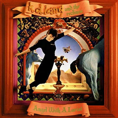 K.D. Lang &The Reclines/Angel With A Lariat<RECORD STORE DAY対象商品/Red Vinyl>[9362489565]
