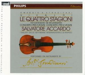 サルヴァトーレ・アッカルド/ヴィヴァルディ:四季 (9/1987):サルヴァトーレ・アッカルド(vn)/ナポリ国際音楽週間合奏団  [XRCD] [XR-4704502]