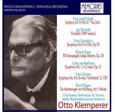 オットー・クレンペラー/Haydn: Symphony No.101