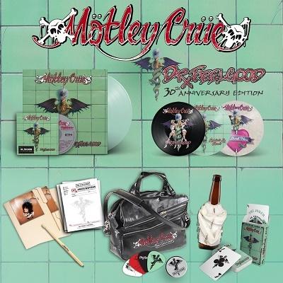 Motley Crue/Dr. Feelgood (30th Anniversary Edition) [LP+CD+3x7inch+グッズ][MLYR5741]