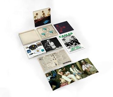 Hotel California: 40th Anniversary Deluxe Edition [2CD+Blu-ray Audio] CD