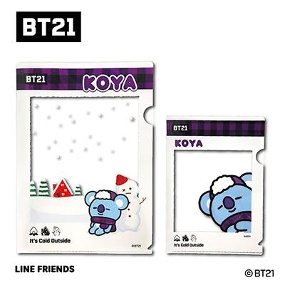 BT21 フレームクリアファイルセット/KOYA Accessories
