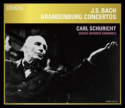カール・シューリヒト/J.S.バッハ: ブランデンブルク協奏曲全曲 [TWSA-1012]