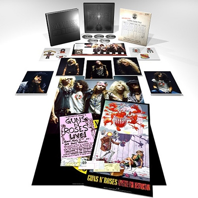 Appetite For Destruction (Super Deluxe Edition) [4CD+Blu-ray Disc] CD