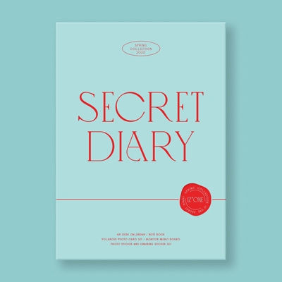 IZ*ONE SPRING COLLECTION [SECRET DIARY](CALENDAR PACKAGE) [CALENDAR+GOODS] Book