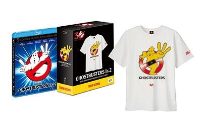 アイヴァン・ライトマン/ゴーストバスターズ 30周年記念 1&2パック(オリジナルTシャツ付) [BPBH-803]