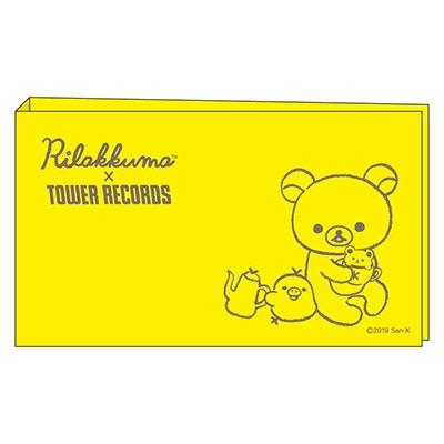 Rilakkuma × TOWER RECORDS コラボチケットファイル 2019 Accessories