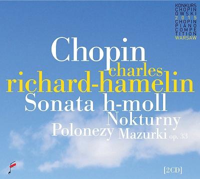 シャルル・リシャール=アムラン/Chopin: Sonata in B minor, Nocturnes, Polonaises, Mazurkas [NIFCCD617]