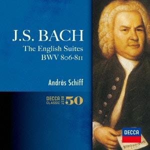 J.S.バッハ:イギリス組曲 全曲 SHM-CD