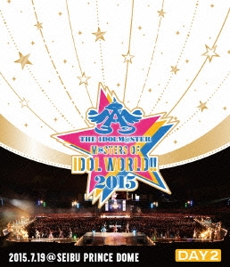 THE IDOLM@STER M@STERS OF IDOL WORLD!! 2015 Live Blu-ray Day2 Blu-ray Disc