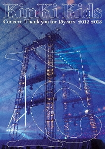 KinKi Kids Concert -Thank you for 15years- 2012-2013<通常版> DVD