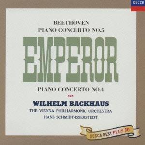 ヴィルヘルム・バックハウス/ベートーヴェン:ピアノ協奏曲第4番・第5番「皇帝」[UCCD-7134]