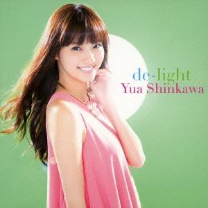 新川優愛/de-light [CD+DVD] [AVCD-48784B]