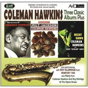 Coleman Hawkins/コールマン・ホーキンス|スリー・クラシック・アルバムズ・プラス [AMSC-1025J]