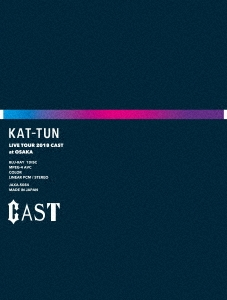 KAT-TUN LIVE TOUR 2018 CAST [2Blu-ray Disc+Double sideフォトブックレット]<完全生産限定盤> Blu-ray Disc