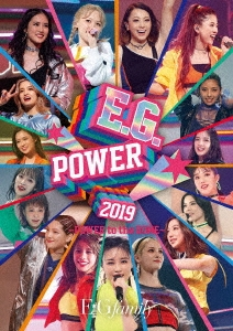 E.G.POWER 2019 ~POWER to the DOME~ [3Blu-ray Disc+フォトブック]<初回生産限定盤> Blu-ray Disc