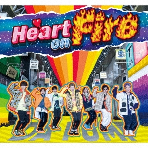 Heart on Fire [CD+DVD+VR+ブックレット]<初回生産限定盤> 12cmCD Single