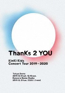 KinKi Kids Concert Tour 2019-2020 ThanKs 2 YOU [3DVD+折りポスター]<通常盤> DVD
