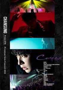 "CHANSUNG (From 2PM) Premium Solo Concert 2018 ""Complex"" [Blu-ray Disc+DVD+ライブフォトブックレッ Blu-ray Disc"