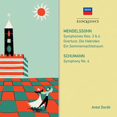 メンデルスゾーン&シューマン: 交響曲集