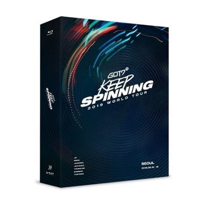 GOT7 2019 World Tour [Keep Spinning] In Seoul Blu-ray Disc