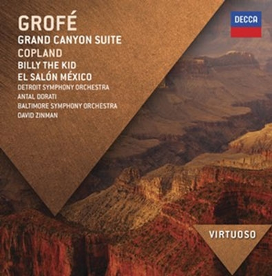 デイヴィッド・ジンマン/Grofe: Grand Canyon Suite; Copland: Billy the Kid, El Salon Mexico[4785156]