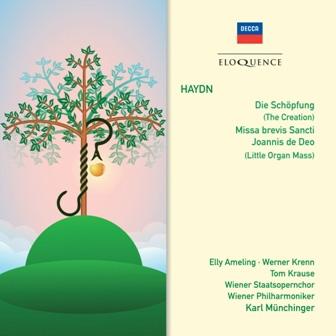 カール・ミュンヒンガー/Haydn: Die Schopfung (The Creation), Missa Brevis Sancti Joannis de Deo (Little Organ Mass)[4804716]