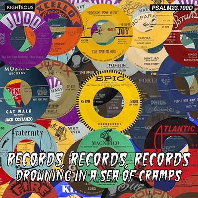 レコード、レコード、レコード~ドロウイング・イン・ア・シー・オブ・クランプス CD
