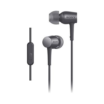 SONY ハイレゾ対応 リモコン付イヤホン h.ear in MDR-EX750AP チャコールブラック [MDREX750APBM]