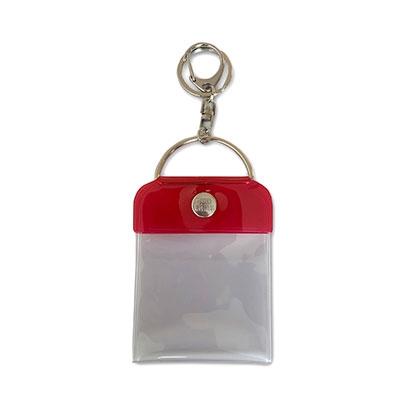 タワレコ 缶バッジキーホルダー57mm用 Red[MD01-5812]