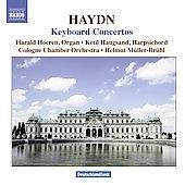 ヘルムート・ミュラー=ブリュール/Haydn: Keyboard Concertos Hob.18-1, 5, 8, 7, 10 / Harald Hoeren(org), Ketil Haugsand(cemb), Helmut Muller-Bruehl(cond), Cologne Chamber Orchestra[8570486]