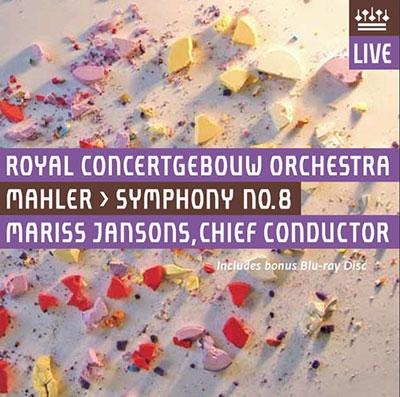 マリス・ヤンソンス/Mahler: Symphony No.8 [SACD Hybrid+Blu-ray Disc][RCO13002]
