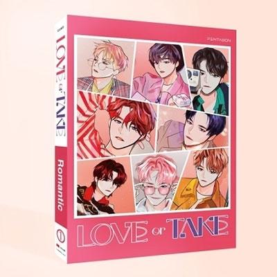 LOVE or TAKE: 11th Mini Album (ROMANTIC VER.) CD