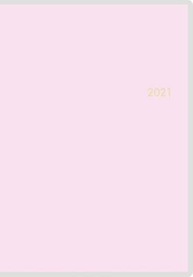 高橋書店 手帳は高橋 ミアクレール(R) 1 [ペールピンク] 手帳 2021年 B6判 マンスリー クリアカバー ピンク No.506 (2021年版1月始まり)[9784471803261]