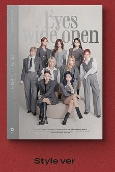 Eyes Wide Open: Twice Vol.2 (Style Ver.) CD