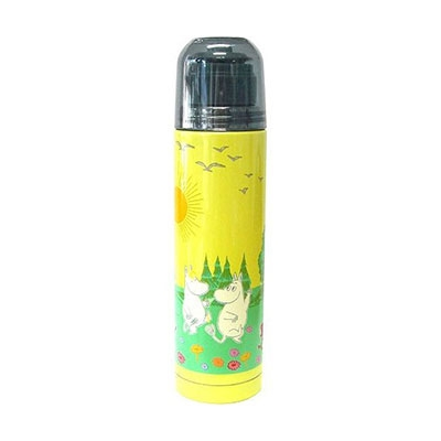 MOOMIN スリム ステンレスボトル(250ml)/お庭で遊ぶ [MMLC1347R]