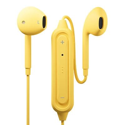 PGA Bluetoothイヤホン Ver5.0 インナーイヤー/Yellow[PG-BTE12IE7YE]
