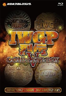 IWGP烈伝COMPLETE-BOX 5 Blu-ray-BOX Blu-ray Disc