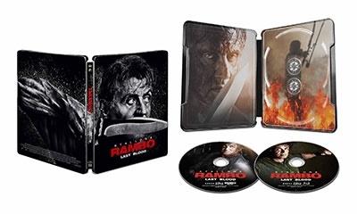 エイドリアン・グランバーグ/ランボー ラスト・ブラッド [Blu-ray Disc+4K Ultra HD Blu-ray Disc]<数量限定スチールブック仕様版/日本オリジナルデザイン>[PCZG-57001]