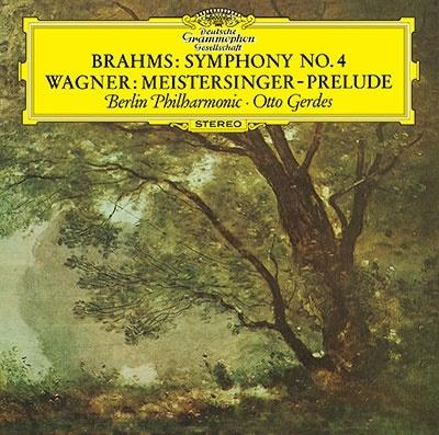 オットー・ゲルデス/ブラームス: 交響曲第4番、ワーグナー: 《ニュルンベルクのマイスタージンガー》第1幕への前奏曲、《ファウスト》序曲、《リエンツィ》序曲<タワーレコード限定