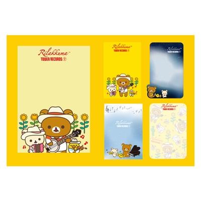 RILAKKUMA × TOWER RECORDS コラボブック型付箋メモ 2017 [MD01-2969]