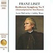 アシュレイ・ウェイス/Liszt: Complete Piano Music Vol.28; Beethoven: Symphony No.9 (arr. for 2 pianos) / Leon McCawley(p), Ashley Wass(p)[8570466]