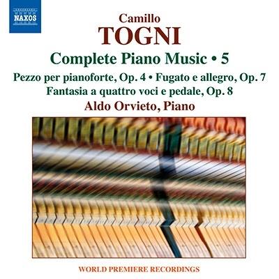 アルド・オルヴィエート/トーニ: ピアノ作品全集 第5集[8573986]