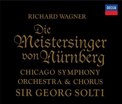 ゲオルグ・ショルティ/ワーグナー: 楽劇「ニュルンベルクのマイスタージンガー」全曲 [PROC-1929]
