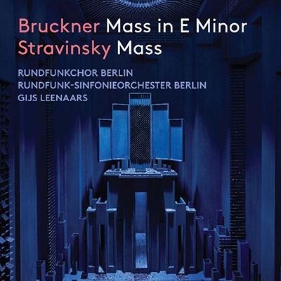 ブルックナー: ミサ曲 ホ短調&ストラヴィンスキー: ミサ曲 CD