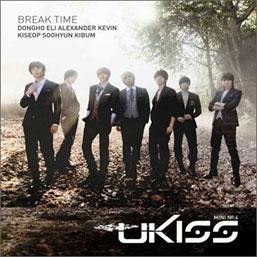 U-KISS/Break Time: 4th Mini Album[D13016C]