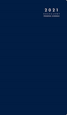 高橋書店 手帳は高橋 リベル インデックス 6 月曜始まり [ブルー オン ノアール] 手帳 2021年 手帳判 マンスリー 皮革調 ネイビー No.306 (2021年版1月始まり)[9784471803063]