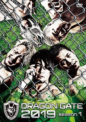 DRAGON GATE 2019 season.1<初回限定版> DVD